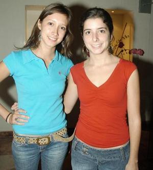 Olivia Ramos y María Sesma.