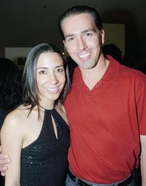 Ana Sofía Soltero y Antonio Miñarro.