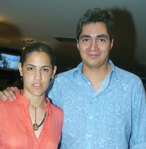 Begoña Rayón y Eduardo Benítez.