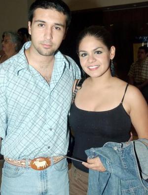 Daniel Escamilla y Cecilia Mijares.