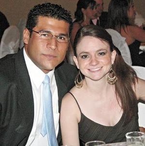 Fernando Chávez y Lorena Soldevilla.