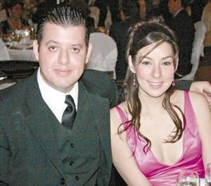 Héctor Adrián Montes Siller y Sofía Briones Cavazos.