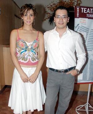 <b>23 de octubre 2005</b><p> Yolanda Alonso y José Luis Orozco.