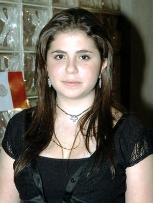 Sofía Gómez González celebró su cumpleaños.