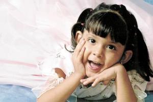 Valeria Hernández Rosales, en reciente convivio infantil.