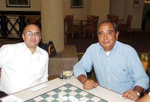 Raúl Moreno y Rafael Pelayo.