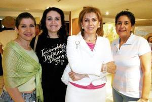 Biby Pérez, Nadia Villanueva, Olga Pérez de Luna y Rosario Martínez.