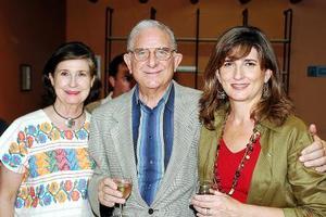 Cecilia González de Sáenz, Alberto González Domene y Rosario Lamberta de González