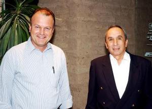 Fernando Veloz y Federico Sáenz.