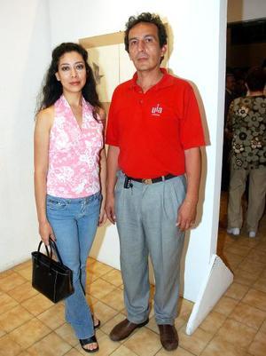Ivonne Galván y José Luis Rodarte