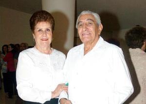 Lilia Sotomayor y Ángel Aguilar