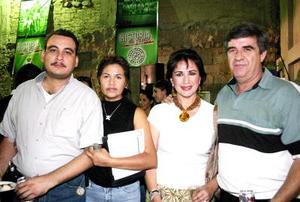 Sergio Gómez, Angélica Campos, Covadonga de Moral y Jesús Ávila