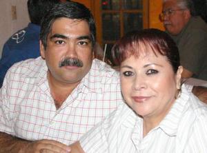 Alfredo y Esperanza Lázaro.