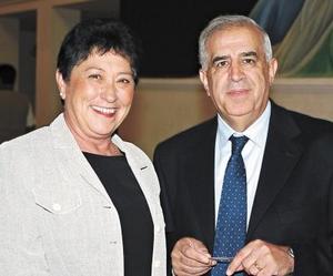 Bernadette y Dominique García.
