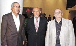 Jesús del Río, Jesús Anaya y Rudy Gosserez.