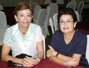 Mayela Montfort y Luly Rivera.
