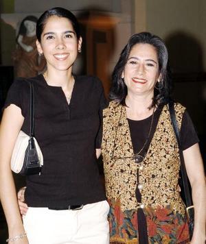 Nidia Chapa y Nidia Tena.