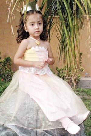 Pamela Rodríguez Espinoza celebró su cumpleaños número tres, con una linda fiesta.