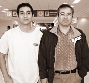 <b>25 de octubre 2005</b><p> Ricardo Aranza viajó a la Ciudad de México, lo despidió Gerardo Sánchez.