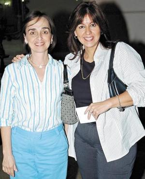 Cristina Valle y Jaqueline Ávalos.