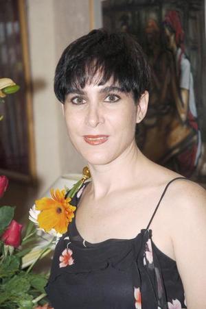 Estrella Franco, captada el día de su despedida de soltera.