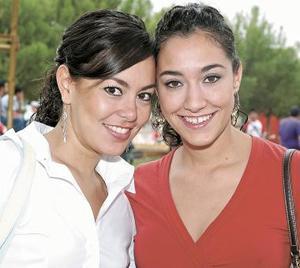 Rosana Celayo y Estrella David.