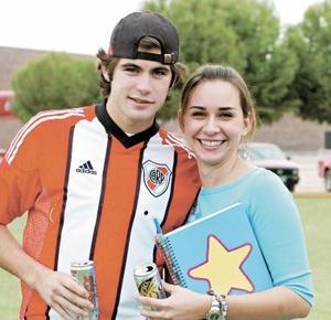 Rodrigo Villarreal y Paulina Navarrete.