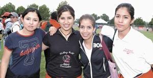 Anabel Cabral, Yenny Torres, Margarita del Río y Eva Salazar.