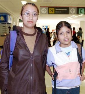 <b>27 de octubre 2005</b><p> Ángeles Abigail y María Isabel Valenciana viajaron a Tijuana.