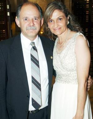 Ricardo Marcos y Adriana de Marcos.