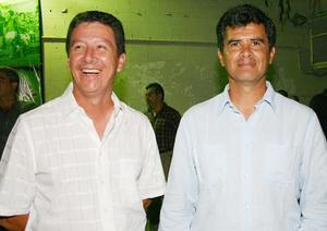 Jaime León y Guillermo Hernández.