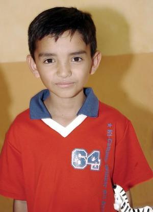 Juan Carlos Wong Camacho fue festejado con una fiesta con motivo de su cumpleaños número ocho.