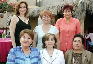 Martha , Patricia, Blanca, Leoney, Grissy  y Gloria.