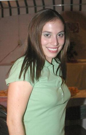 Con motivo de su cumpleaños, Valeria Ramírez Salazar disfrutó de una fiesta.
