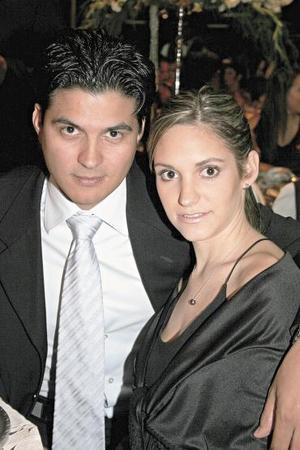 Humberto Baca y Laura de la Parra de Baca.