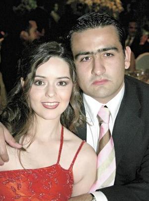 Luly Álvarez de Jaidar y Carlos Jaidar Tricio.