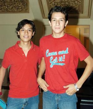 Alejandro Islas e Iván Martínez.