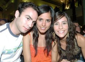 Javier García, Myriam Gurrola y Gaby de Madero
