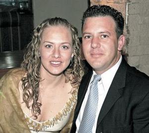 Claudia de Iriarte y Javier Iriarte Jalife.