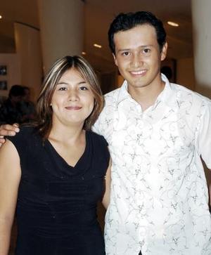 Cynthia Figueroa y Ricardo Tinoco.