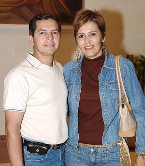 Fernando Fernández y Socorro Reyes.