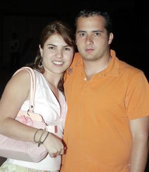 Jéssica Trasfi y Gerardo de la Torre.