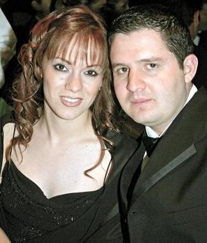 Odila Vargas de Fernández y Faruk Fernández