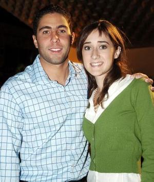 Ricardo  y Mariana Fernández.