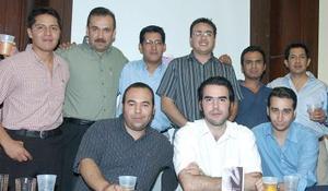 Daniel Herrera, Daniel Comas, Salvador Sáenz, Jaime Muñoz, Hugo Castro, Alberto de la Fuente, Luis Morales, Édgar Salinas y Enrique Sada.