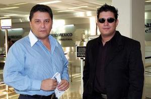 Rogelio Ramos y Rafael Carreón viajaron a Veracruz