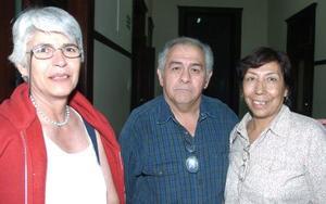 Águeda Herrera Lavín, Rogelio Rubio Contreras y María de la Luz Hernández de Rubio.
