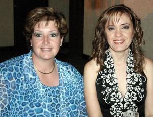 Angélica de Campa y Norma Martínez.