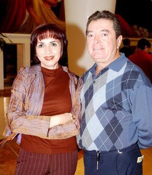 Guillermo  Ávila y Silvia Muñoz.