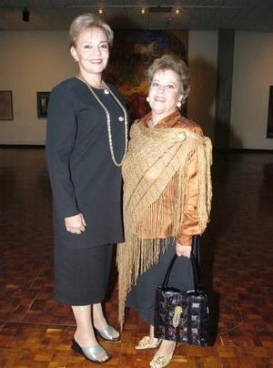 Judith Mijares de Sepúlveda y Susana Muro de Ortiz.